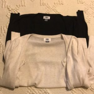 TWO Old Navy Cardigans
